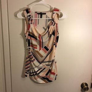 Multicolored Tank Top by White House Black Market